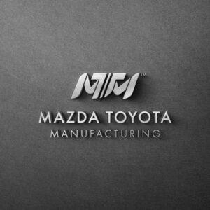 Mazda Toyota Manufacturing Logo, Brand Identity
